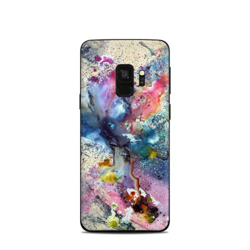 Cosmic Flower Samsung Galaxy S9 Skin