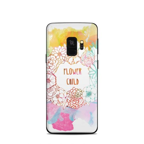 Flower Child Samsung Galaxy S9 Skin