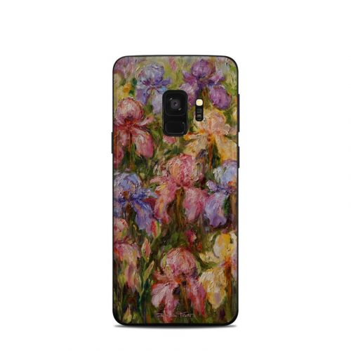 Field Of Irises Samsung Galaxy S9 Skin
