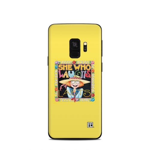 She Who Laughs Samsung Galaxy S9 Skin