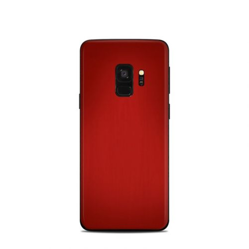 Red Burst Samsung Galaxy S9 Skin