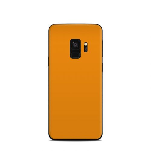 Solid State Orange Samsung Galaxy S9 Skin