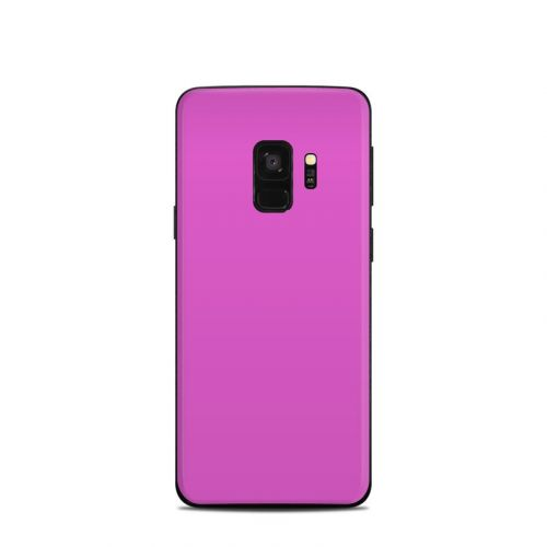 Solid State Vibrant Pink Samsung Galaxy S9 Skin
