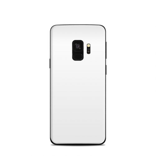 Solid State White Samsung Galaxy S9 Skin