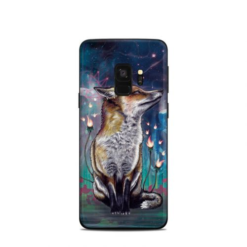 There is a Light Samsung Galaxy S9 Skin