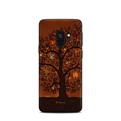 Tree Of Books Samsung Galaxy S9 Skin