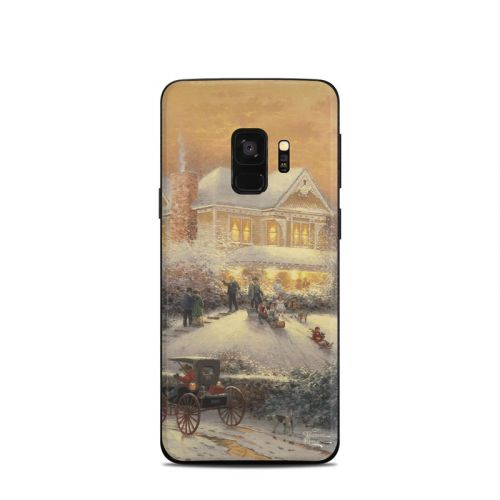 Victorian Christmas Samsung Galaxy S9 Skin