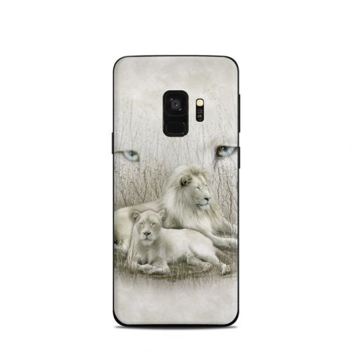 White Lion Samsung Galaxy S9 Skin