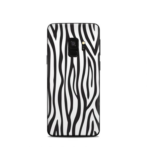 Zebra Stripes Samsung Galaxy S9 Skin