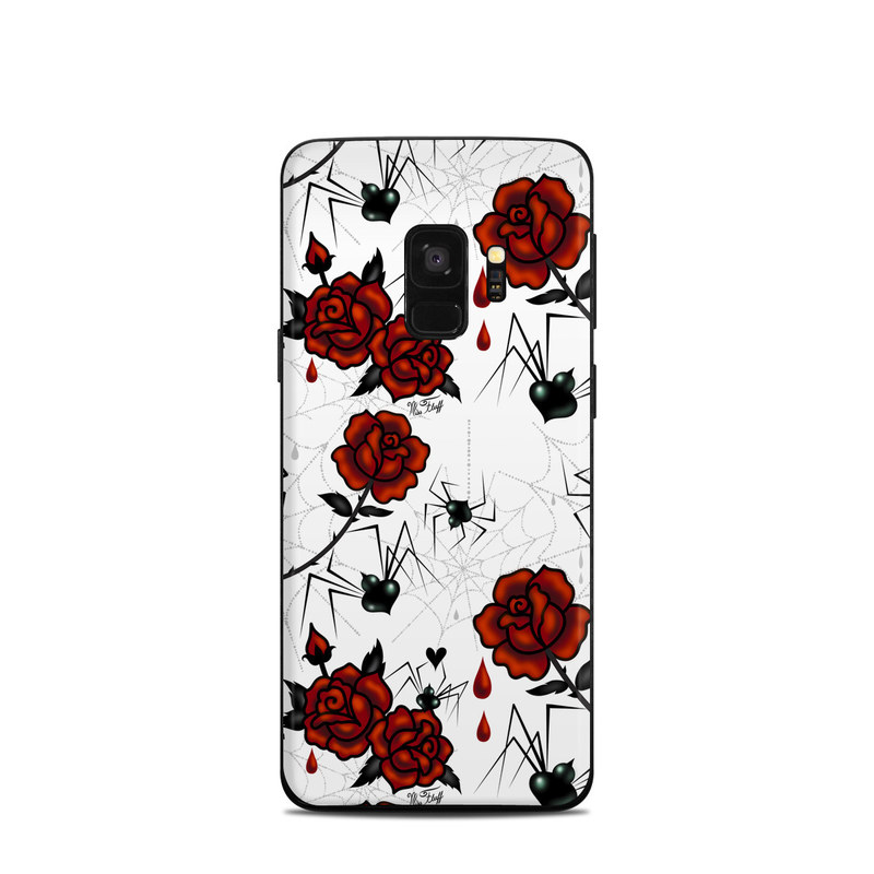 Black Widows Samsung Galaxy S9 Skin