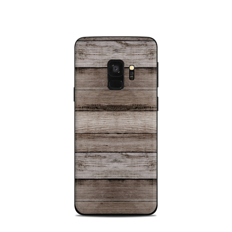 Barn Wood Samsung Galaxy S9 Skin