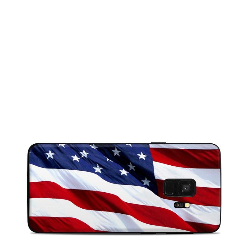 Patriotic Samsung Galaxy S9 Skin