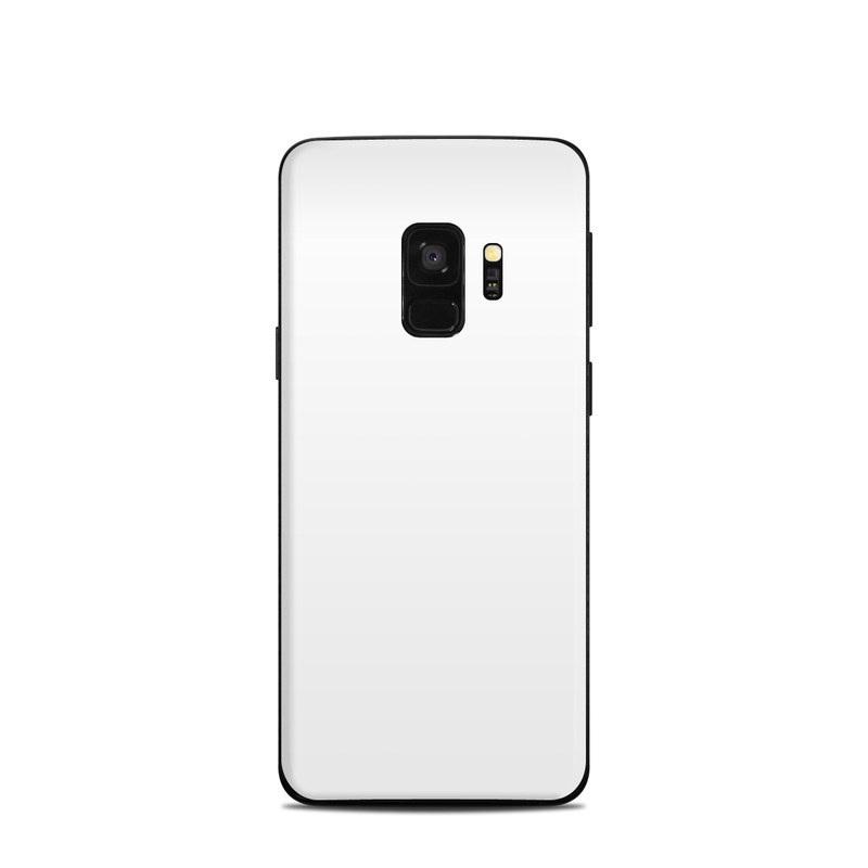 best website 461c1 570fe Solid State White Samsung Galaxy S9 Skin