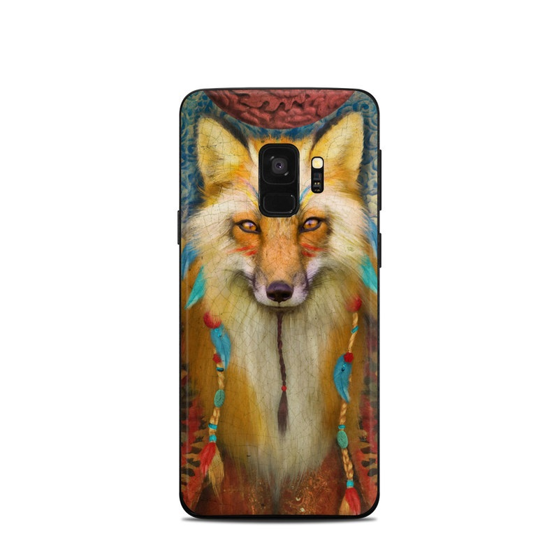 Wise Fox Samsung Galaxy S9 Skin