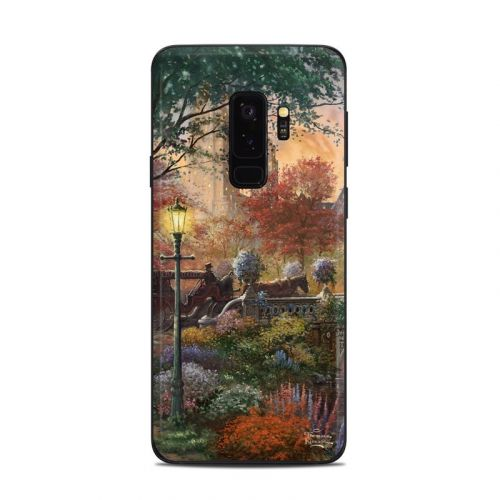 Autumn in New York Samsung Galaxy S9 Plus Skin