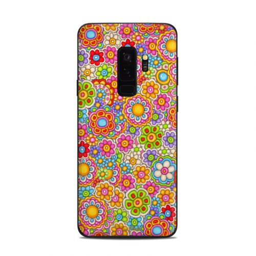 Bright Ditzy Samsung Galaxy S9 Plus Skin