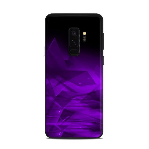 Dark Amethyst Crystal Samsung Galaxy S9 Plus Skin