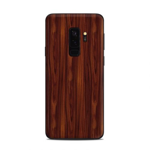 Dark Rosewood Samsung Galaxy S9 Plus Skin