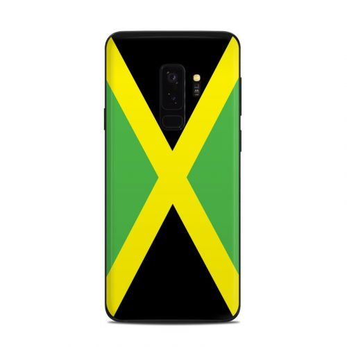 Jamaican Flag Samsung Galaxy S9 Plus Skin