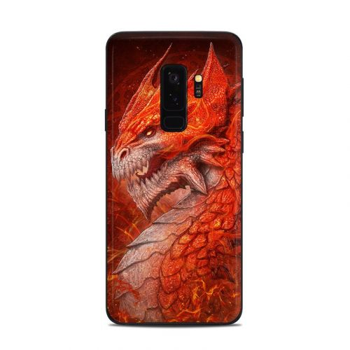 Flame Dragon Samsung Galaxy S9 Plus Skin