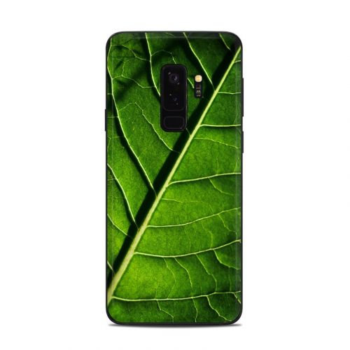 Green Leaf Samsung Galaxy S9 Plus Skin