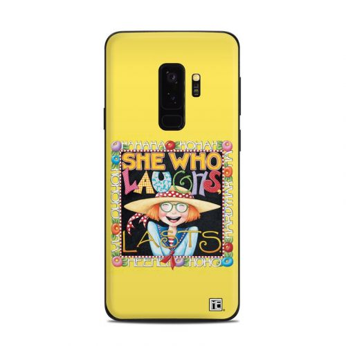 She Who Laughs Samsung Galaxy S9 Plus Skin