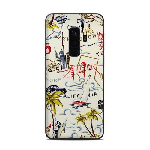 Road Trip Samsung Galaxy S9 Plus Skin