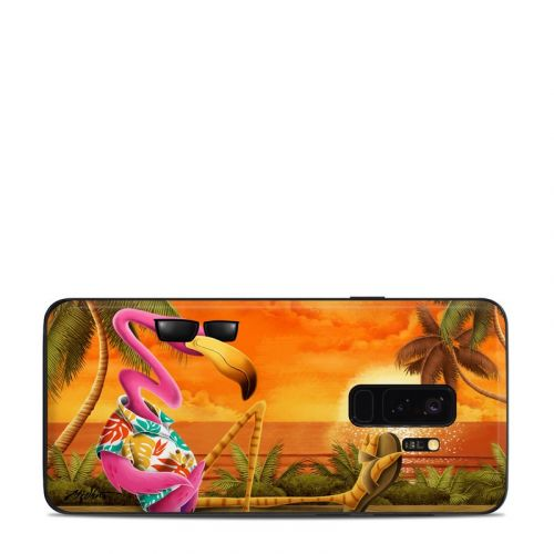 Sunset Flamingo Samsung Galaxy S9 Plus Skin