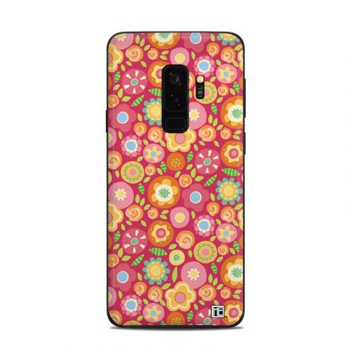Flowers Squished Samsung Galaxy S9 Plus Skin