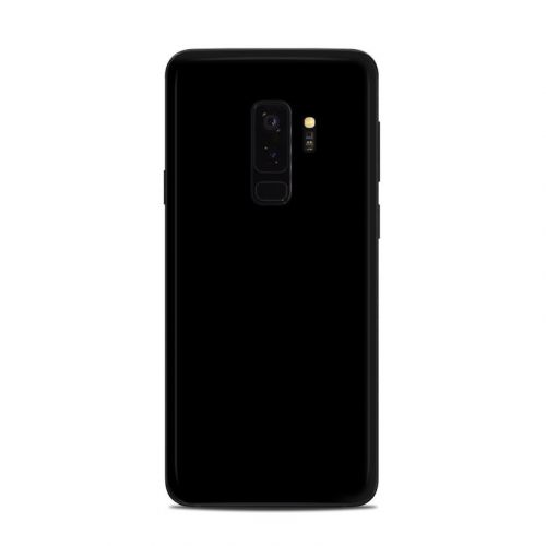 Solid State Black Samsung Galaxy S9 Plus Skin