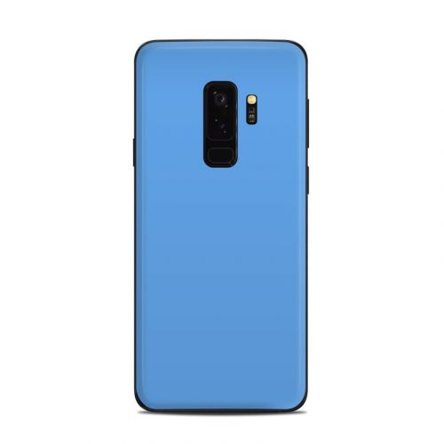 Solid State Blue Samsung Galaxy S9 Plus Skin