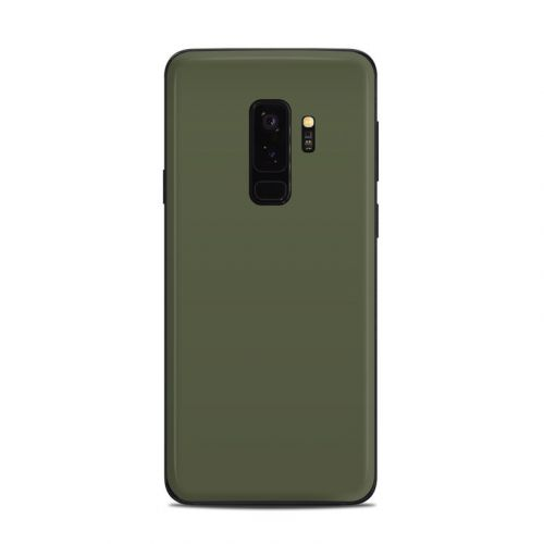 Solid State Olive Drab Samsung Galaxy S9 Plus Skin