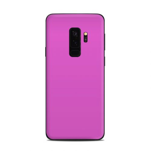 Solid State Vibrant Pink Samsung Galaxy S9 Plus Skin