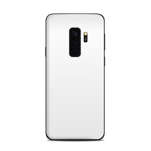 Solid State White Samsung Galaxy S9 Plus Skin