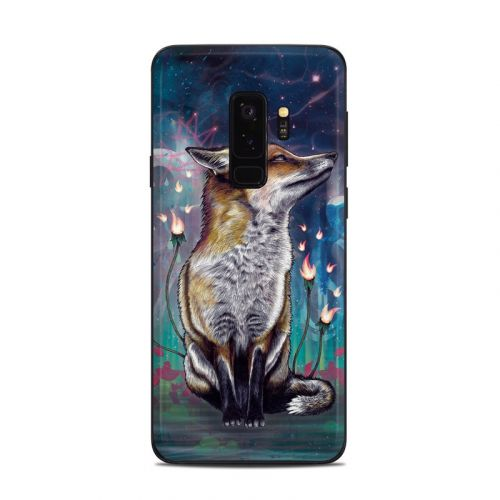 There is a Light Samsung Galaxy S9 Plus Skin