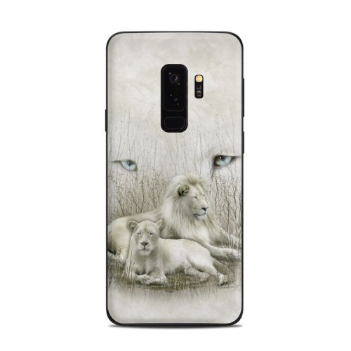 White Lion Samsung Galaxy S9 Plus Skin