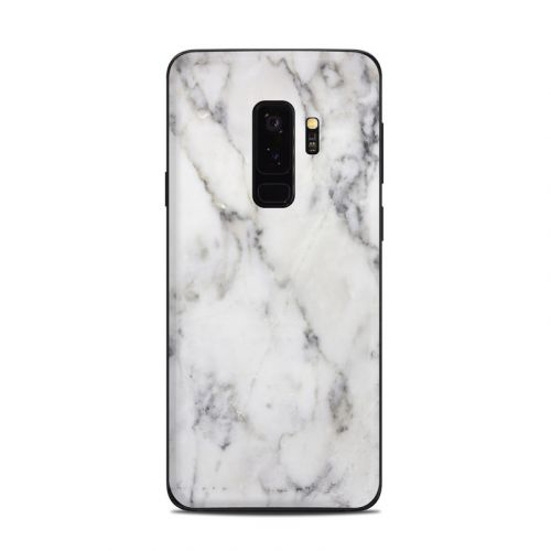 White Marble Samsung Galaxy S9 Plus Skin