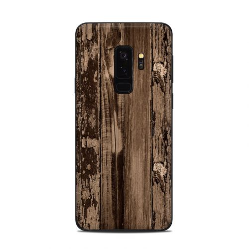 Weathered Wood Samsung Galaxy S9 Plus Skin