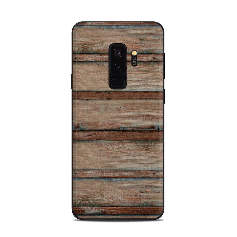 Boardwalk Wood Samsung Galaxy S9 Plus Skin