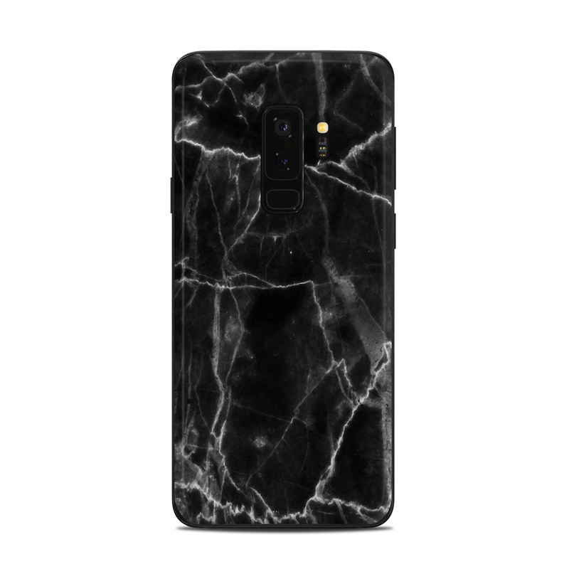 Samsung Galaxy S9 Plus Skin design of Black, White, Nature, Black-and-white, Monochrome photography, Branch, Atmosphere, Atmospheric phenomenon, Tree, Sky with black, white colors