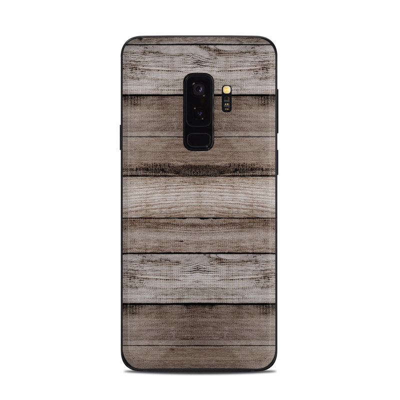 the latest 05459 eb51d Barn Wood Samsung Galaxy S9 Plus Skin