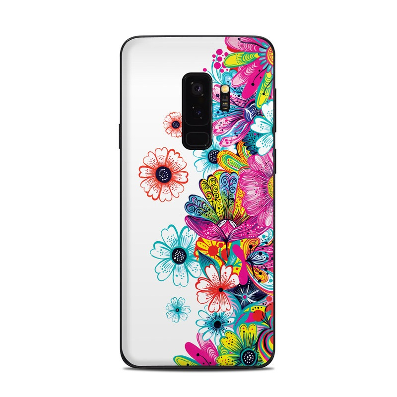 Intense Flowers Samsung Galaxy S9 Plus Skin