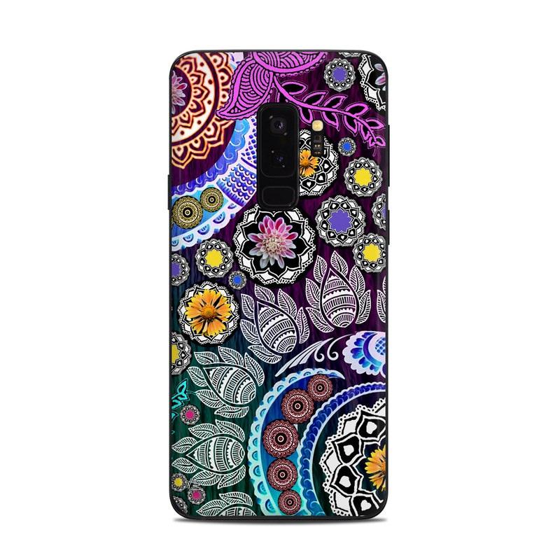 Mehndi Garden Samsung Galaxy S9 Plus Skin