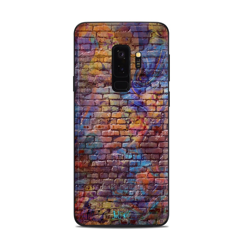 Painted Brick Samsung Galaxy S9 Plus Skin