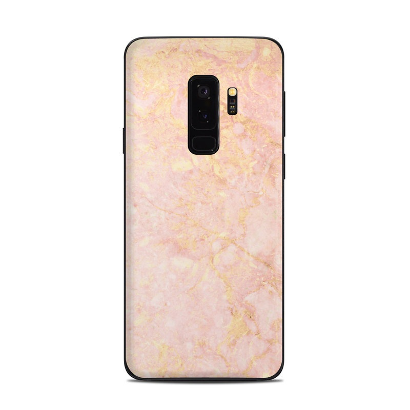 Rose Gold Marble Samsung Galaxy S9 Plus Skin Istyles