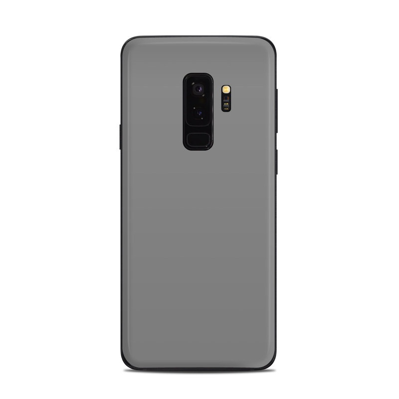 Samsung Galaxy S9 Plus Skin design of Atmospheric phenomenon, Daytime, Grey, Brown, Sky, Calm, Atmosphere, Beige with gray colors