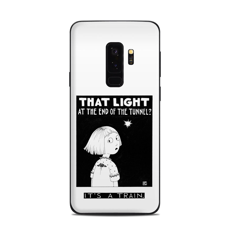 Train Tunnel Samsung Galaxy S9 Plus Skin