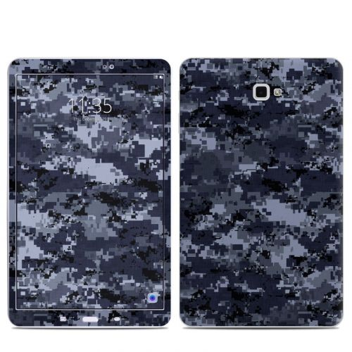 Digital Navy Camo Samsung Galaxy Tab A 10.1 Skin