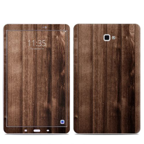 Stained Wood Samsung Galaxy Tab A 10.1 Skin