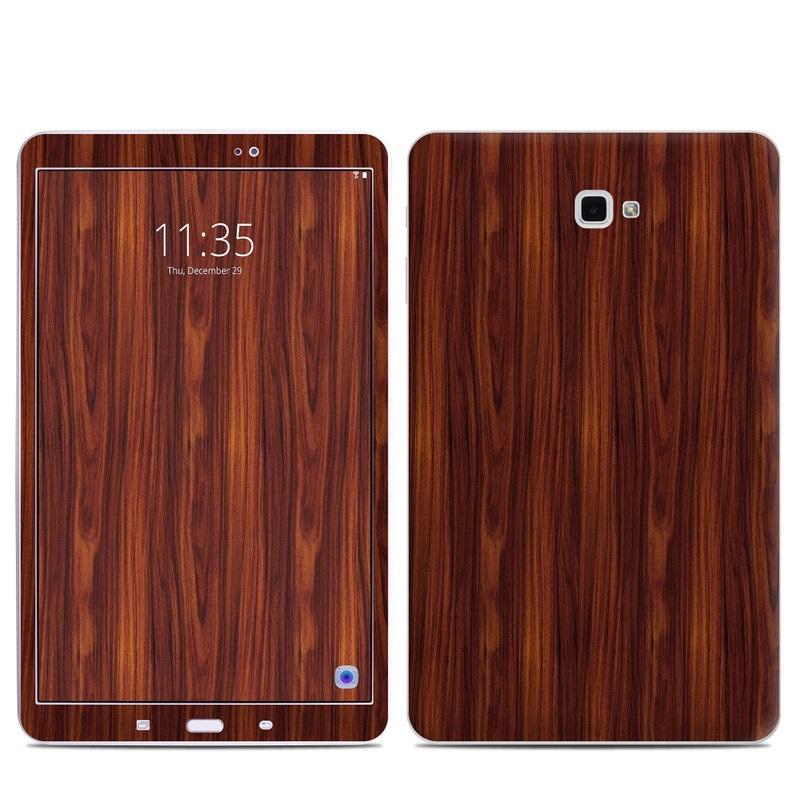 Dark Rosewood Samsung Galaxy Tab A 10.1 Skin